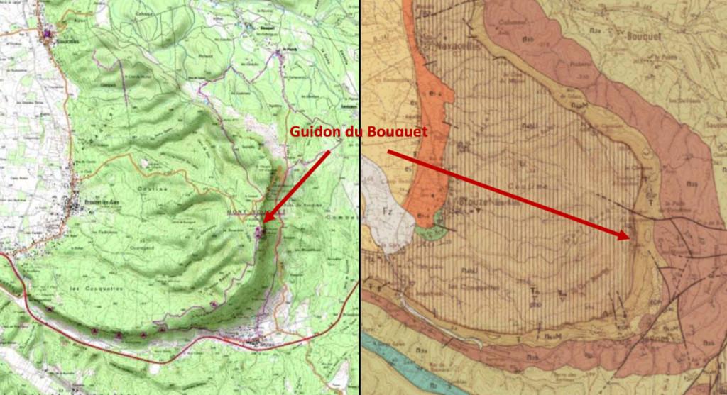 carte Mont Bouquet